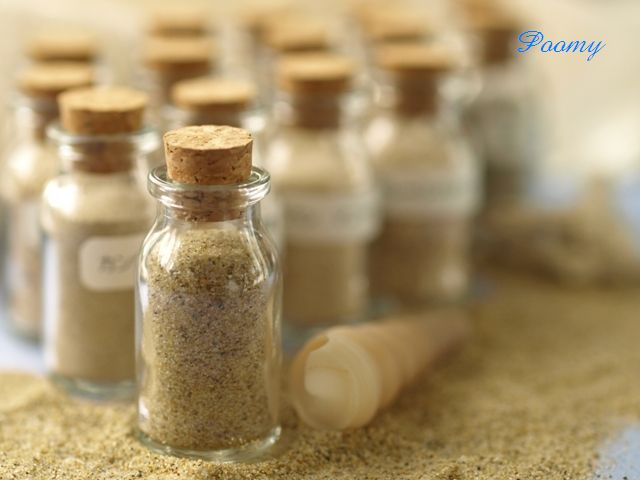 collection of sand