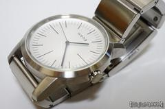 「wena wrist Three Hands White」(WN-WT01W)レポート1 本体編