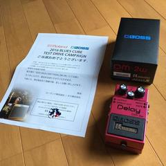 Roland Blues Cube Test Driveの賞品が届きました