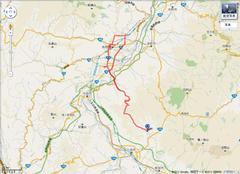 「My Track」 今日の軌跡 (GPS from 日本通信 IDEOS BM-SWU300)
