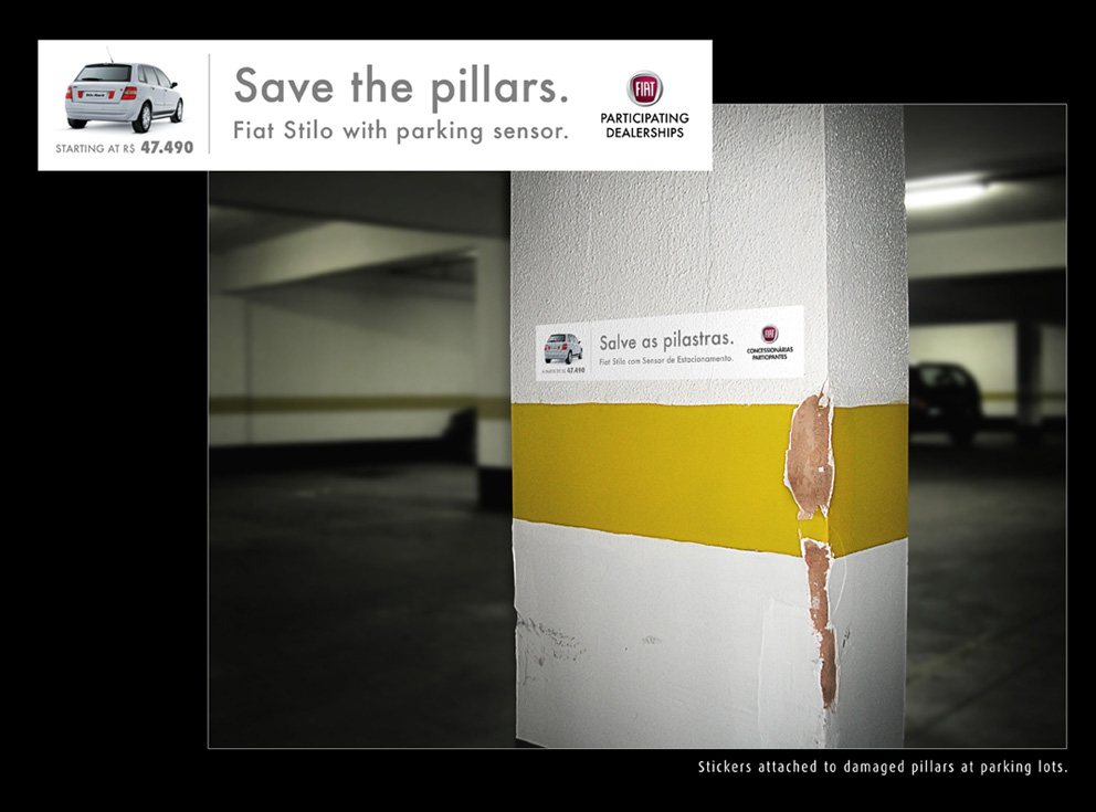 FIAT 「Save the Pillars.」 おもしろいなあ。