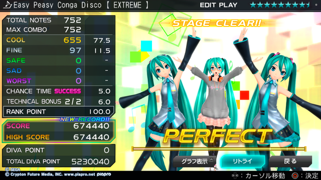 Easy Peasy Conga Disco 【 EXTREME 】 パフェSS.png