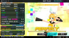 『l o s t』で遊びました 【初音ミク -Project DIVA- F 2nd】