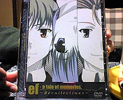 ef-a tale of memories. DVD感想☆ えふめも総集編のDVDを買いました♪
