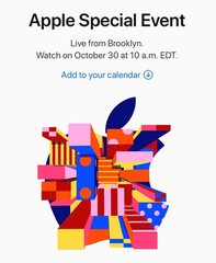 10/30「Apple Special Event」はブルックリンで。「カレンダーに追加」のプチ親切