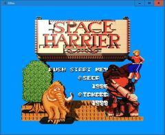 SPACE HARRIER  (3DNes)