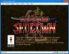 SAMURAI SHOWDOWN  (3DO)