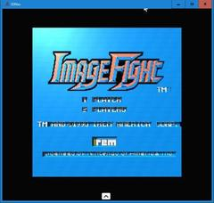 IMAGE FIGHT  (3DNes)