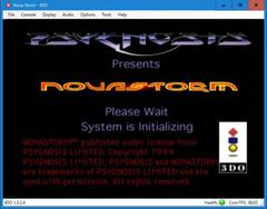 NOVASTORM  (3DO)
