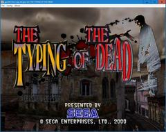 THE TYPING OF THE DEAD  (DC)