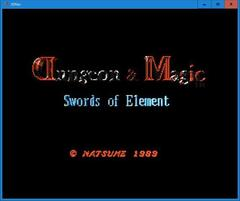 Dungeon&Magic Swords of Element  (3Dnes)