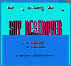 SKY DESTROYER  (3DNes)