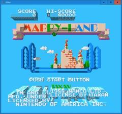 MAPPY−LAND  (3DNes)