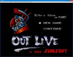 OUT LIVE  (PCEngine)
