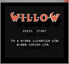 WILLOW  (3DNes)