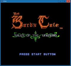 Bard's Tale  (3DNes)