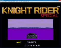 KNIGHT RIDER SPECIAL  (PCEngine)