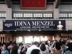 Idina Menzel at 日本武道館