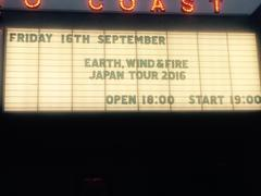 Earth Wind & Fire at STUDIO COAST