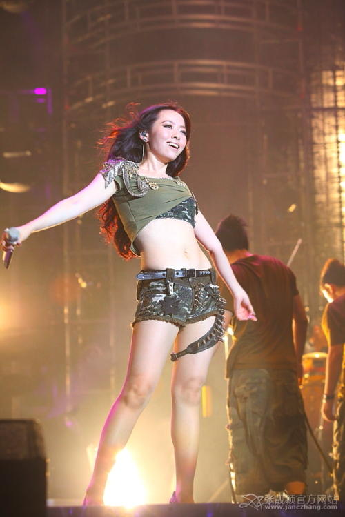 Jane Zhang 2010 World Concert Tour in Shanghai !