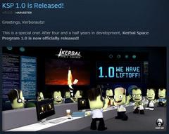 Kerbal Space Program リリース