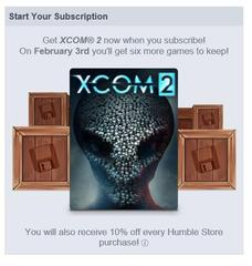 Humble Monthly XCOM 2