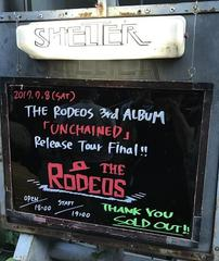 2017.7.8 THE RODEOS@下北沢SHELTER