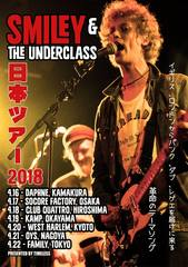 2018.4.22 SMILEY & THE UNDERCLASS@渋谷FAMILY