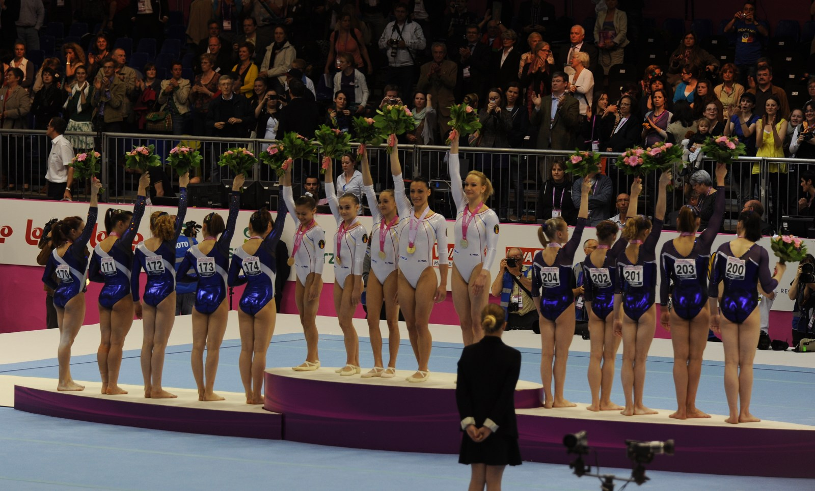2012 European Gymnastic Champion ROMANIA