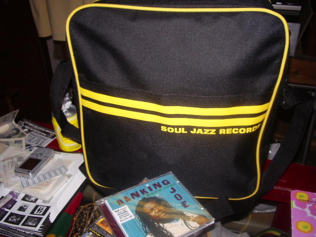 SOUL JAZZ RECORDS OFFICIAL BAG