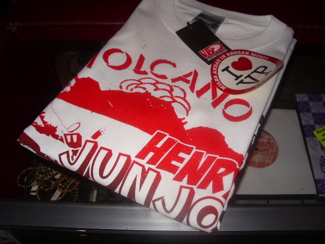 HENLY JUNJO RAWS - VOLCANO OFFICIAL T-SHIRTS!