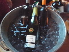 2012/8/19wine party 鱸の塩包み焼!