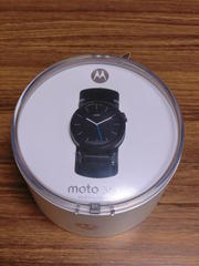 Android Wear Moto 360 2nd Generationを試す!
