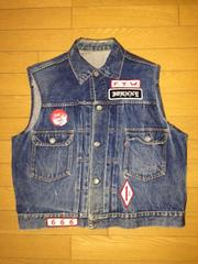 LEVI'S 507XX 2nd JaketVest Custom