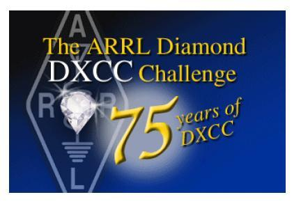 The ARRL Diamond DXCC Challenge アワード  111カントリー