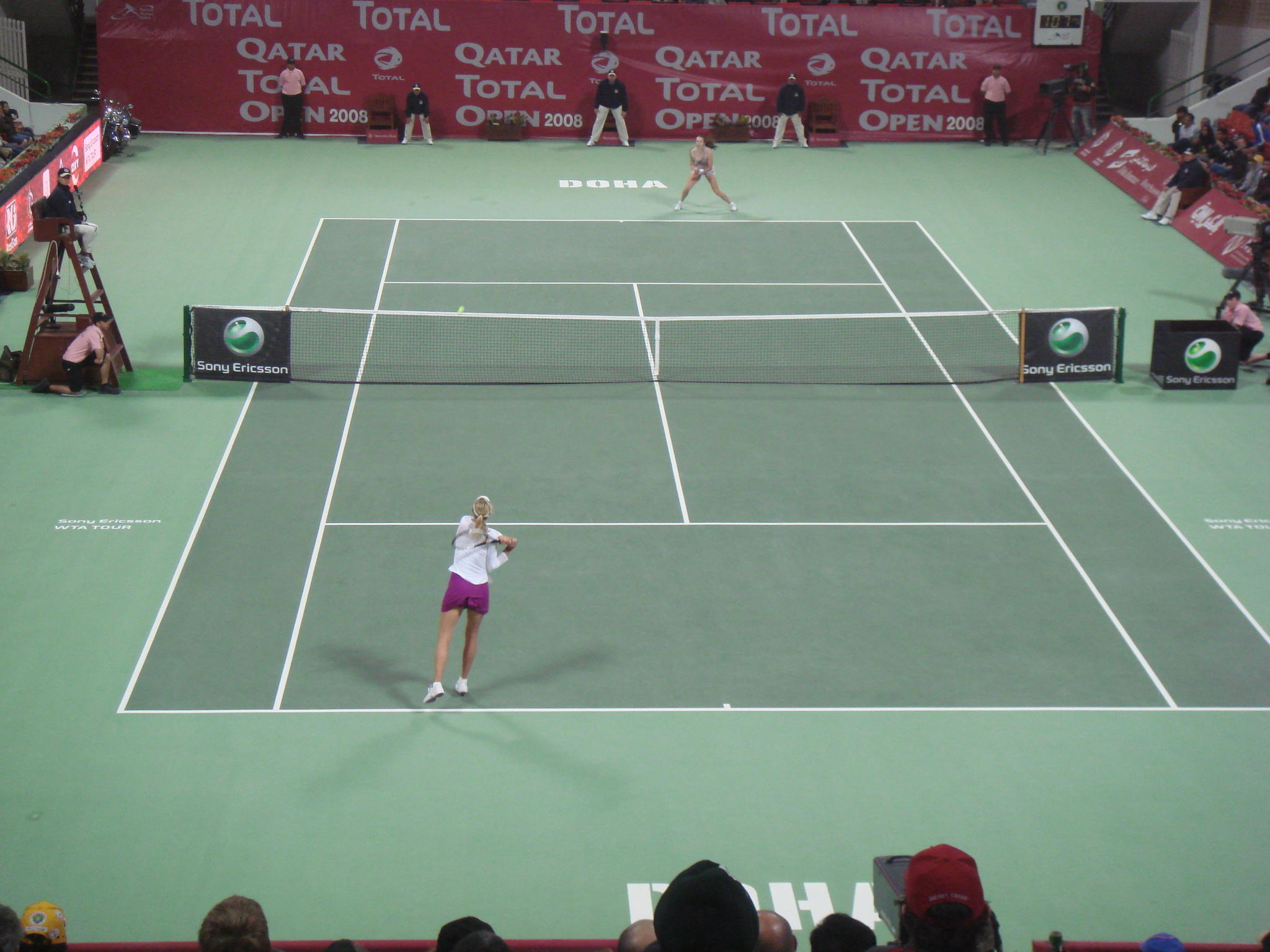 Qatar Total Open 2回戦