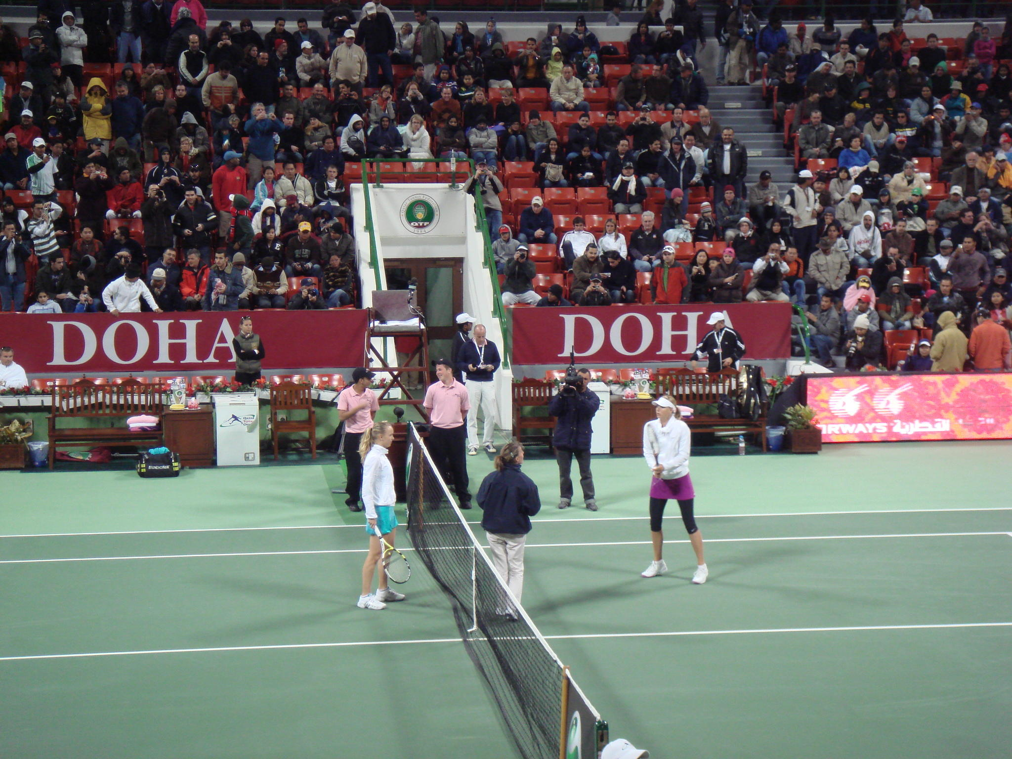 Qatar Total Open 準々決勝