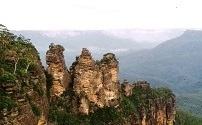 2) 3 sisters, Blue Mountains, sydney, 22 Mar 1993.jpg