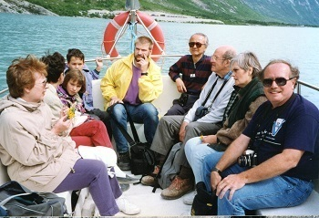 Sognefjord on 29 June, with J. Nye & others.jpg