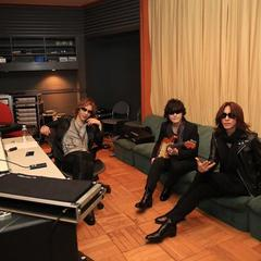 Recording with Toshl and Sugizo right now!