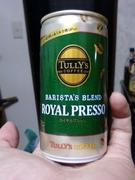 TULLY'S BARISTA'S BLEND ROYAL PRESSO