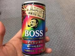 BOSS RAINBOW MOUNTAIN オリエンテ
