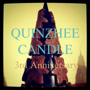 ★QUINZHEE CANDLE 3周年です★