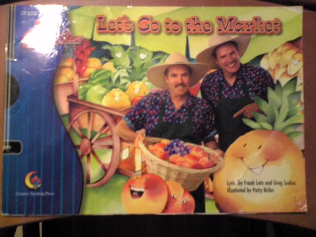 (Sing&Read) Let's go to the market