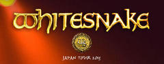 【号外】Whitesnake JAPAN TOUR 2013