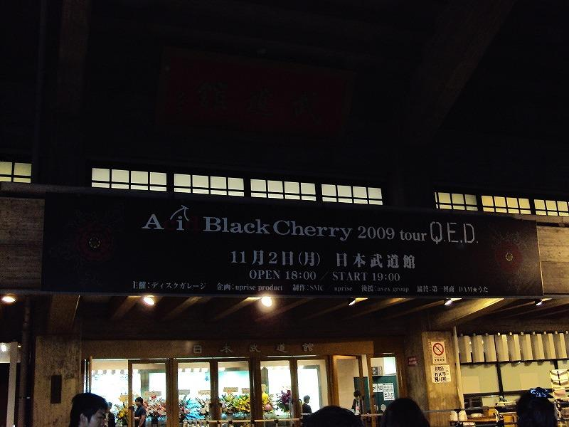 Acid Black Cherry 2009 tour Q.E.D. in 日本武道館 ライブ♪