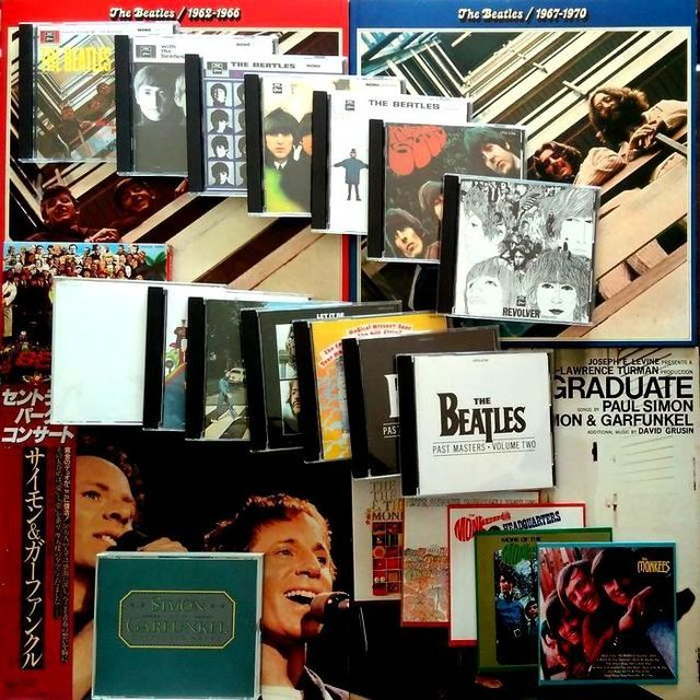 The Beatles、S&G、The Monkees