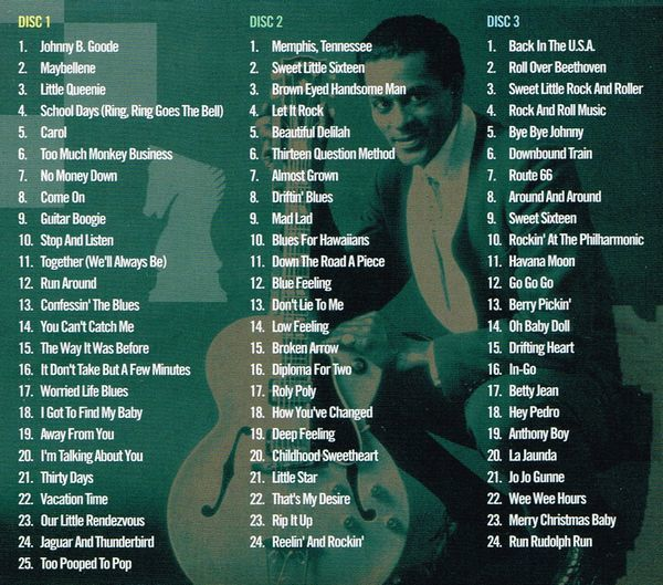 Chuck Berry:Best Of The Chess Years