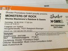 Monsters of Rock 2016