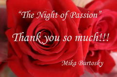 「The night of Passion」Thank you so much!!!